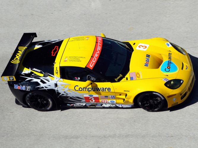 2010 Chevrolet Corvette C6-R GT2 race racing supercar supercars j wallpaper