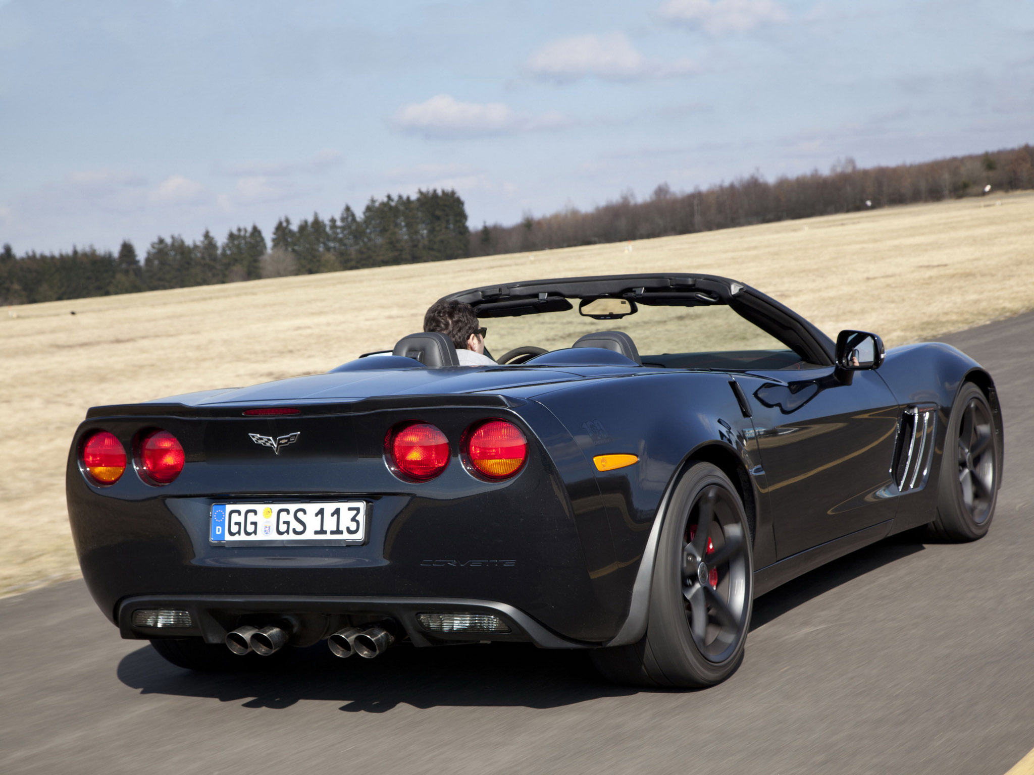 2010 Chevrolet Corvette Grand Sport Convertible muscle supercar