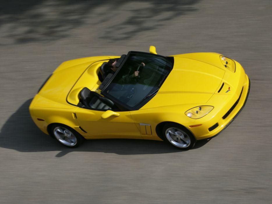 2010 Chevrolet Corvette Grand Sport Convertible muscle supercar supercars   ds wallpaper