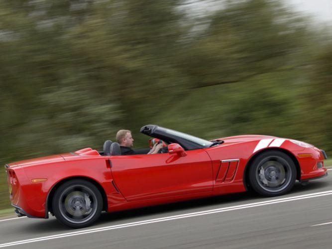 2010 Chevrolet Corvette Grand Sport Convertible muscle supercar supercars f wallpaper