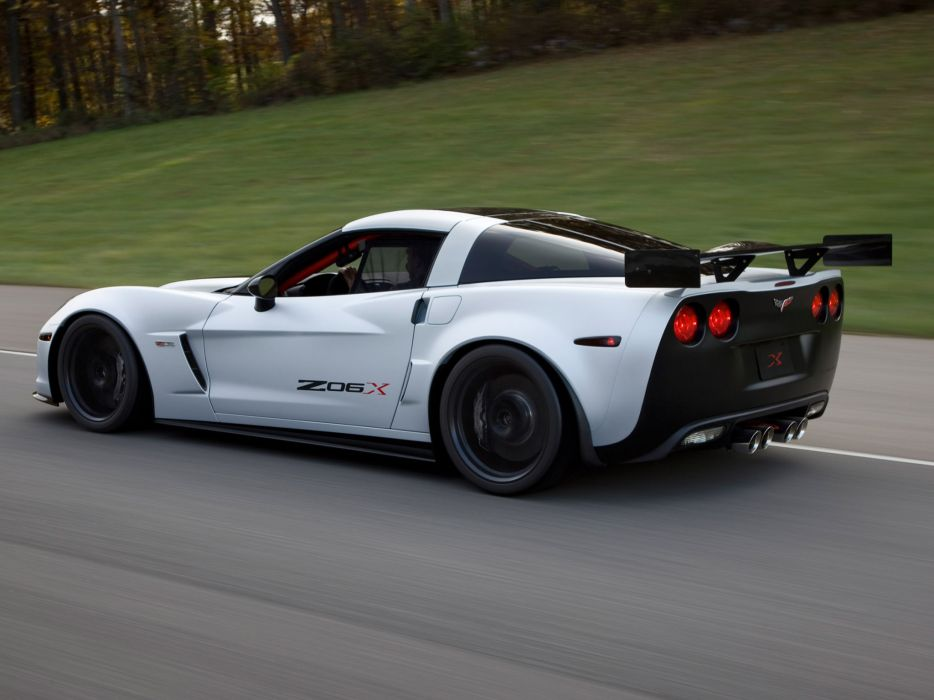 2010 Chevrolet Corvette Z06X muscle supercar supercars  f wallpaper