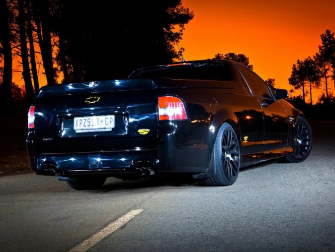 2010 Chevrolet SuperUte truck muscle tuning supercar supercars d wallpaper