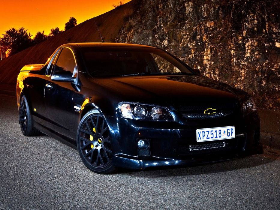 2010 Chevrolet SuperUte truck muscle tuning supercar supercars g wallpaper