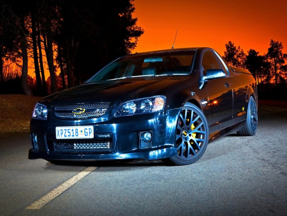 2010 Chevrolet SuperUte truck muscle tuning supercar supercars wallpaper