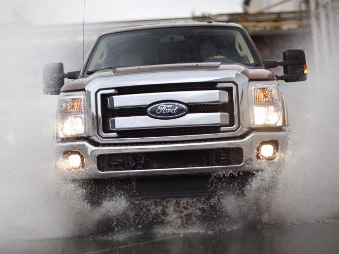 2010 Ford F-250 SuperDuty truck 4x4 drops f wallpaper
