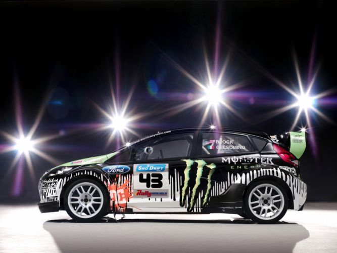 2010 Ford Fiesta Monster World Rally race racing tuning f wallpaper