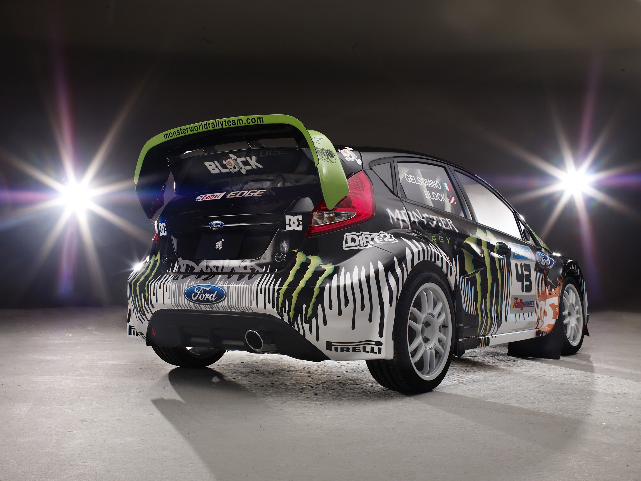2010 ford fiesta monster world rally race racing tuning f. Black Bedroom Furniture Sets. Home Design Ideas