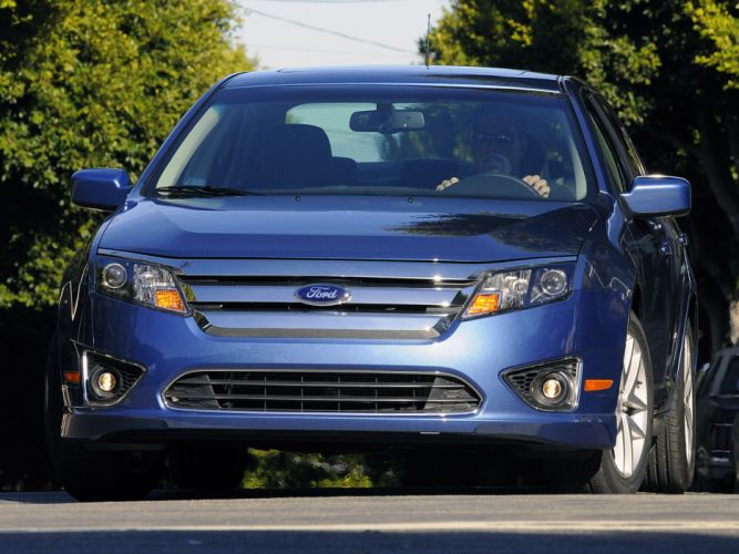 2010 Ford Fusion Sport USA d wallpaper