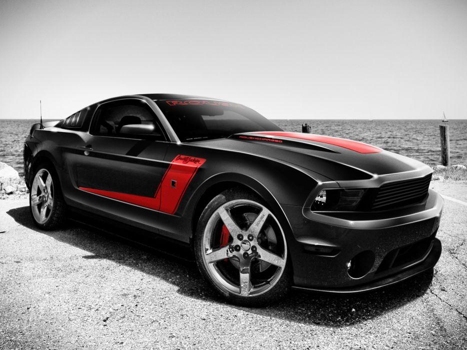 2010 Ford Mustang Barrett Jackson muscle wallpaper