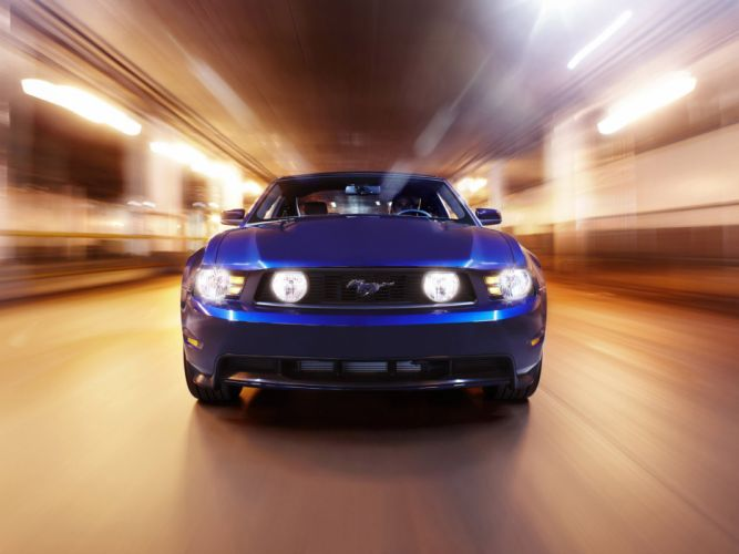 2010 Ford Mustang G-T muscle fd wallpaper