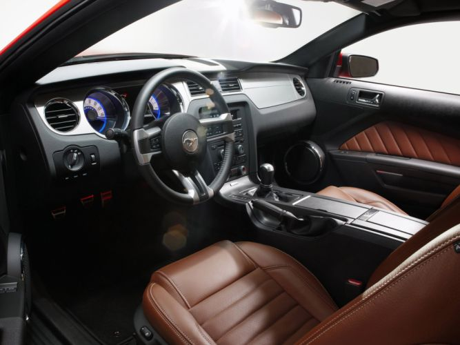2010 Ford Mustang G-T muscle interior wallpaper