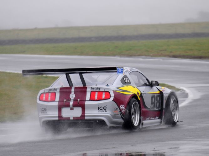 2010 Ford Mustang GT3 race racing supercar supercars muscle g wallpaper