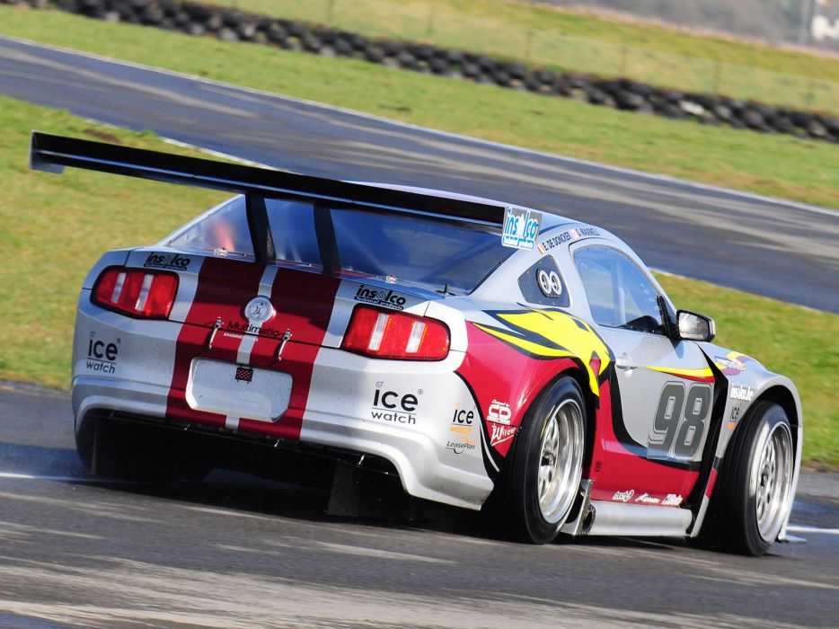 2010 Ford Mustang GT3 race racing supercar supercars muscle    hh wallpaper