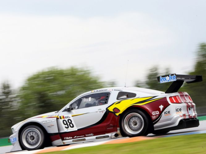 2010 Ford Mustang GT3 race racing supercar supercars muscle hf wallpaper