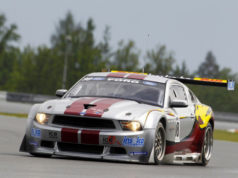 2010 Ford Mustang GT3 race racing supercar supercars muscle wallpaper