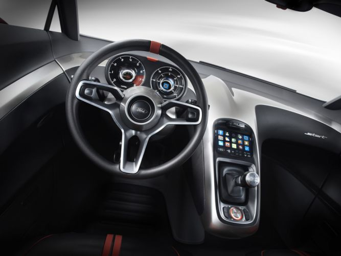 2010 Ford Start Concept interior wallpaper