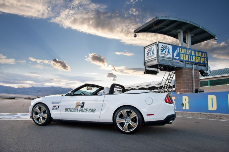 2010 Hurst Ford Mustang Pace muscle race racing g wallpaper