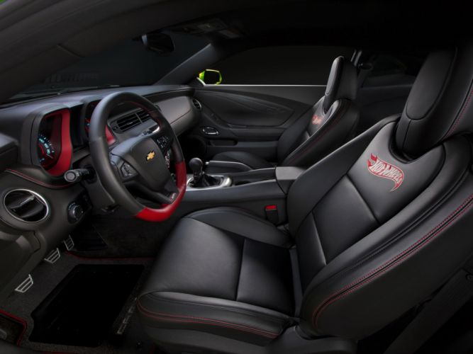 2011 Chevrolet Camaro Hot-Wheels Concept muscle interior wallpaper