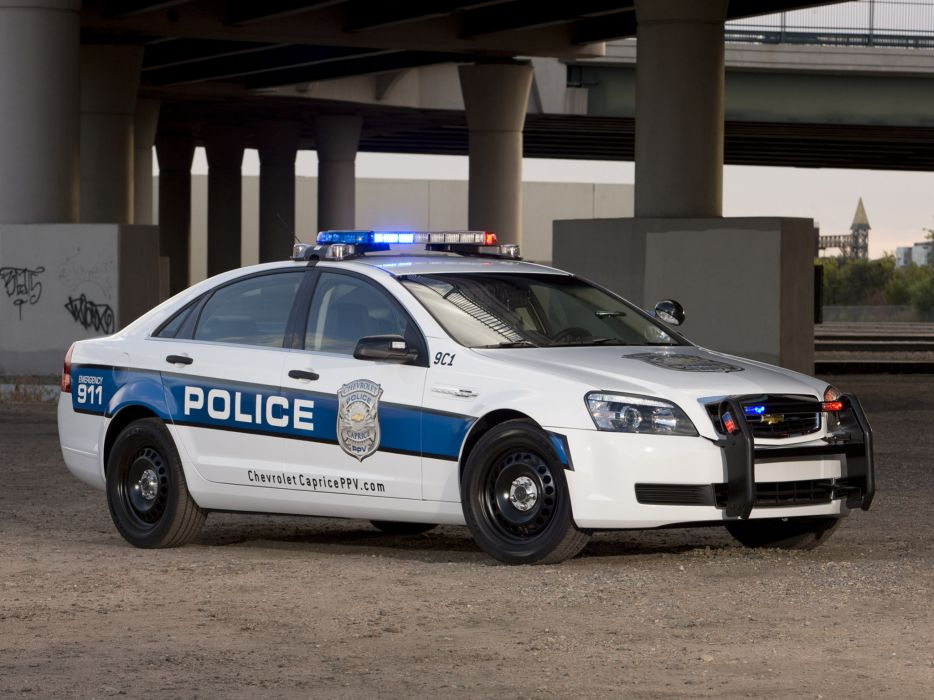 2011 Chevrolet Caprice PPV Police muscle  h wallpaper