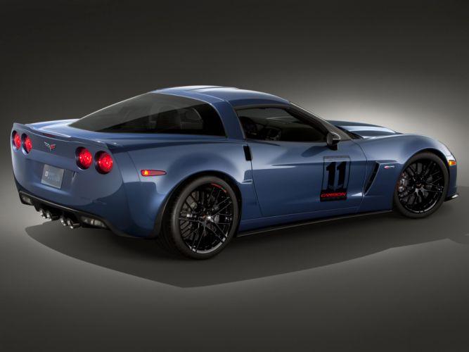 2011 Chevrolet Corvette Z06 Carbon muscle supercar supercars f wallpaper