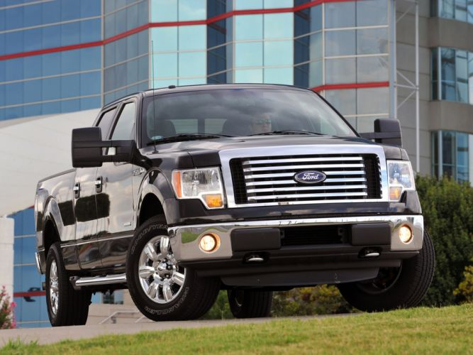 2011 Ford F-150 truck 4x4 f wallpaper