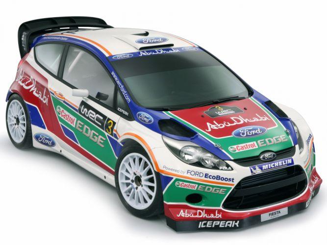 2011 Ford Fiesta R-S WRC race racing tuning g wallpaper