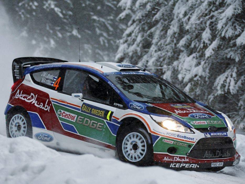 2011 Ford Fiesta R-S WRC race racing tuning     d wallpaper