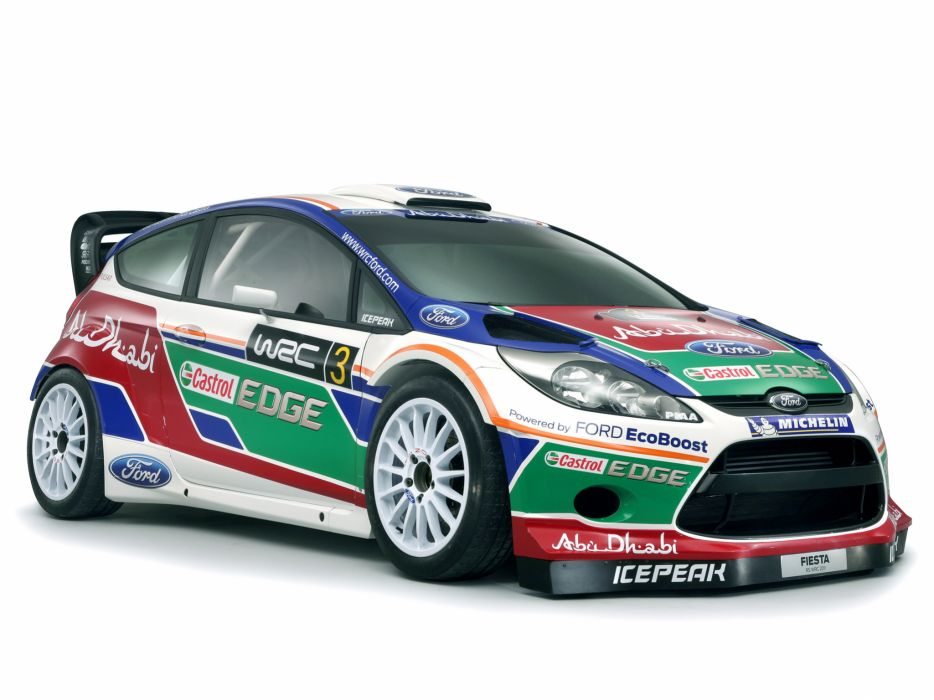2011 Ford Fiesta R-S WRC race racing tuning wallpaper