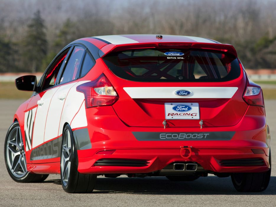 2011 Ford Focus Race Car Concept tuning race racing    d wallpaper