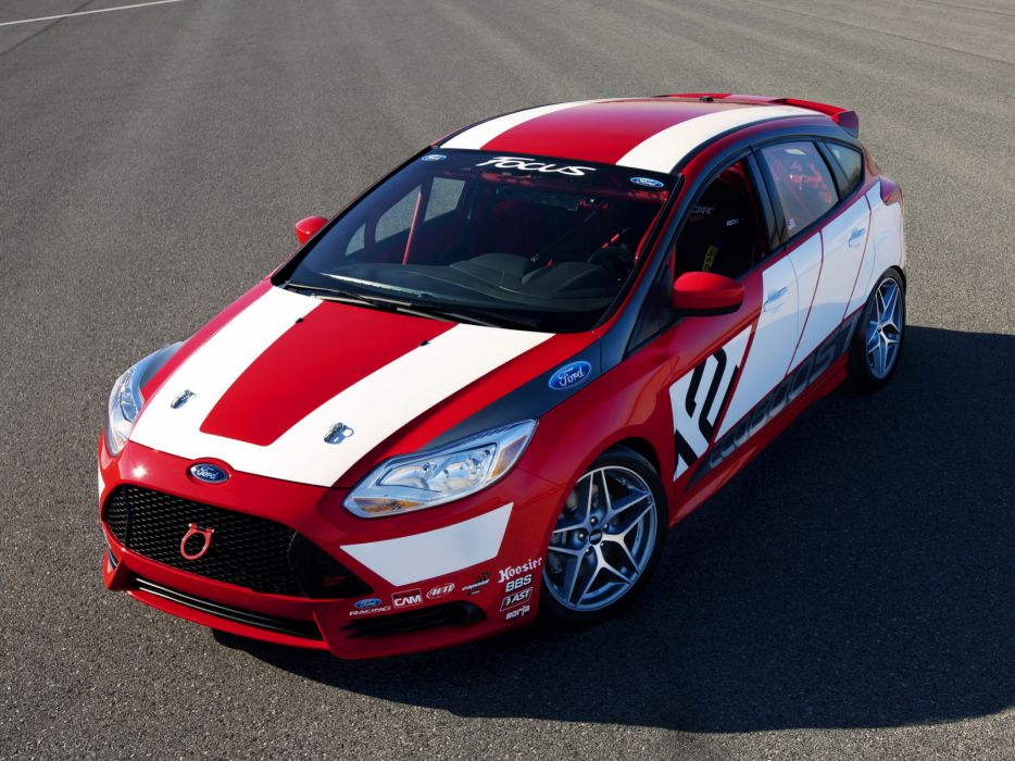 2011 Ford Focus Race Car Concept tuning race racing wallpaper