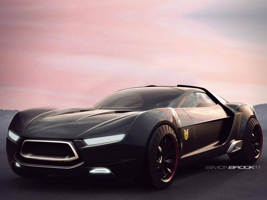 2011 Ford Mad Max Interceptor Concept supecar supercars f wallpaper