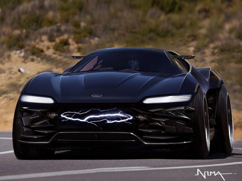 2011 Ford Mad Max Interceptor Concept supecar supercars wallpaper