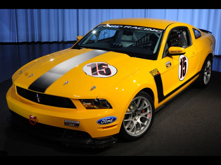 2011 Ford Mustang BOSS 302R muscle race racing   g wallpaper