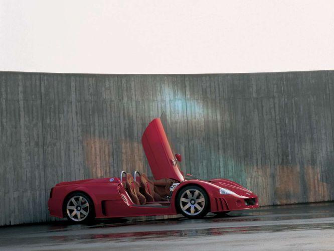 1998 Volkswagen W12 Roadster Concept supercar supercars interior f wallpaper