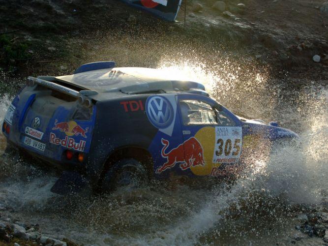 2006 Volkswagen Touareg Dakar offroad race racing f wallpaper