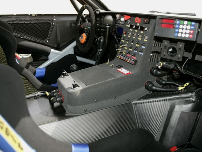 2006 Volkswagen Touareg Dakar offroad race racing interior wallpaper