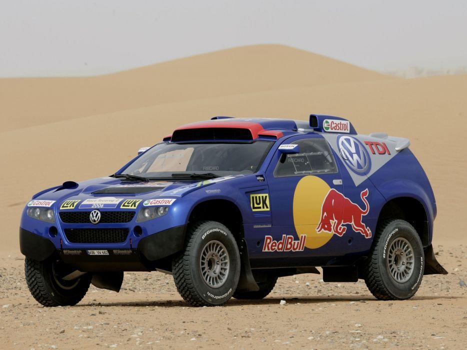2006 Volkswagen Touareg Dakar offroad race racing wallpaper