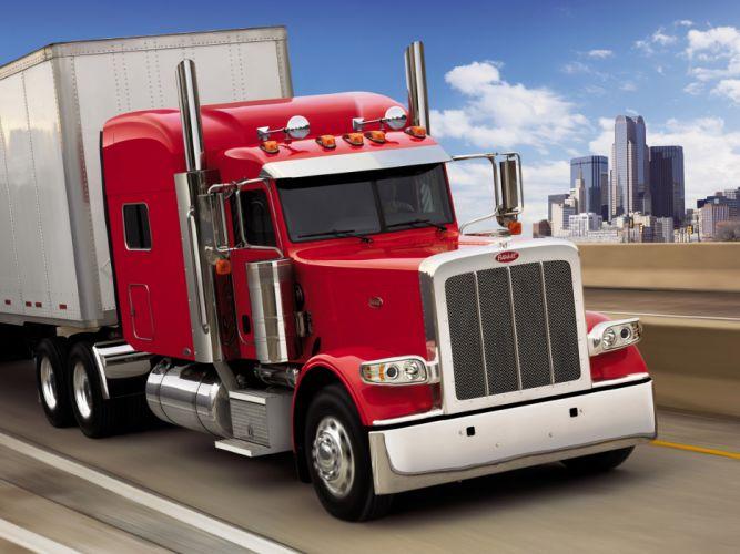 2007 Peterbilt 389 semi truck tractor wallpaper