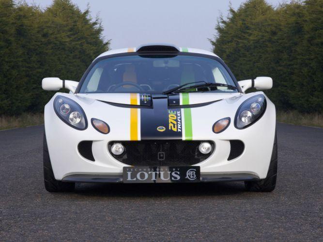2008 Lotus Exige 270E TriFuel Concept supercar supercars wallpaper