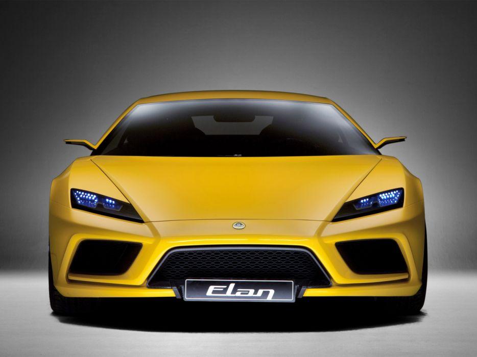 2010 Lotus Elan Concept Supercar Supercars G Wallpaper 2048x1536