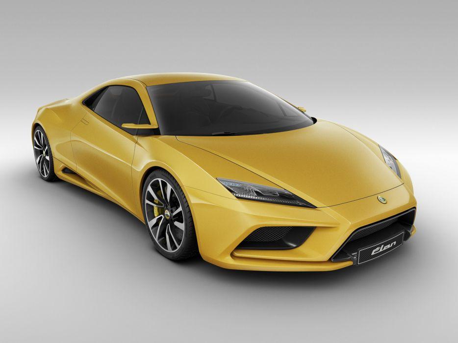 2010 Lotus Elan Concept supercar supercars j wallpaper