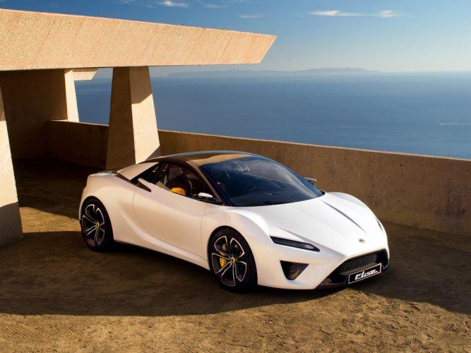 2010 Lotus Elise Concept supercar supercars f wallpaper