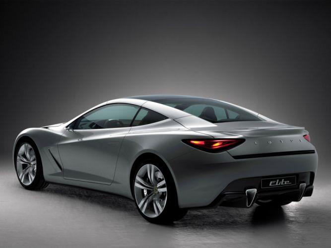 2010 Lotus Elite Concept supercar supercars h wallpaper