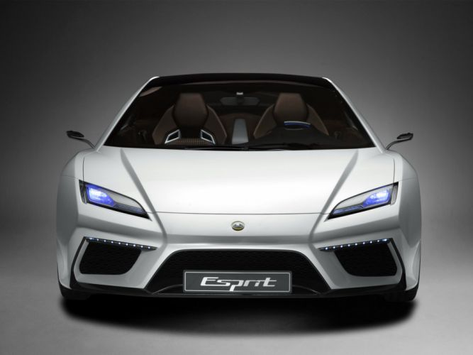 2010 Lotus Esprit Concept supercar supercars interior wallpaper
