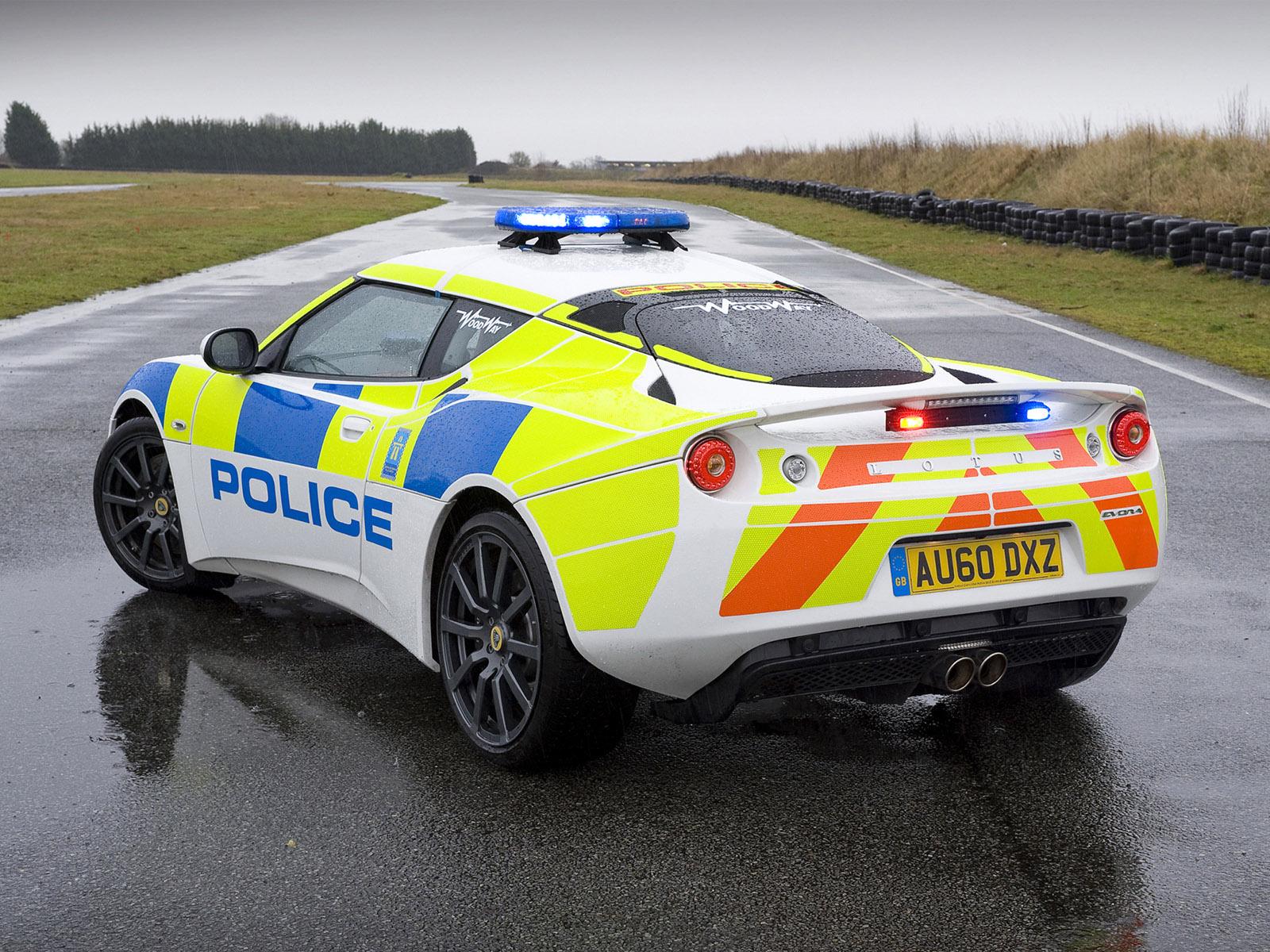 2010 Lotus Evora Police Supercar Supercars F Wallpaper