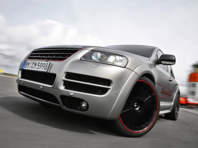 2010 Volkswagen Touareg W12 tuning wheel wheels wallpaper