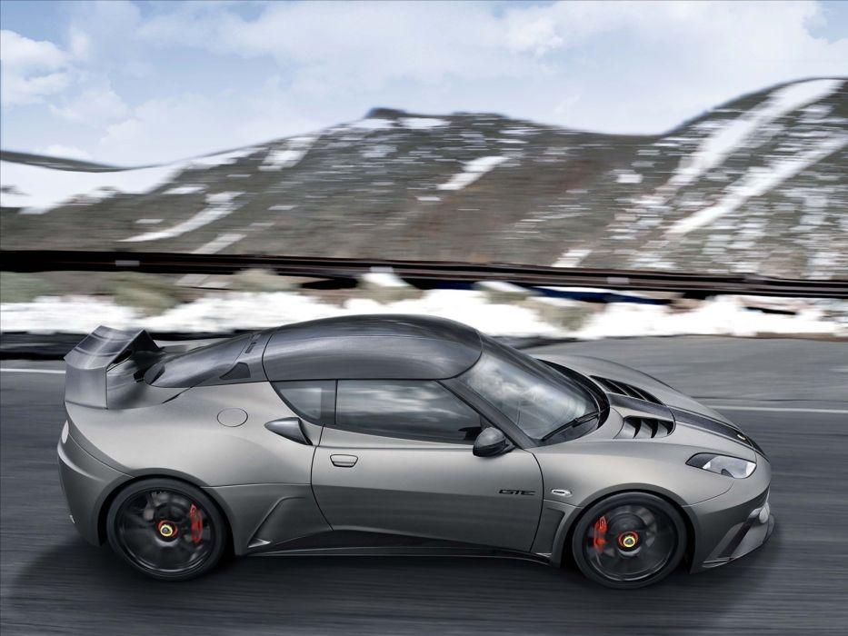 2011 Lotus Evora GTE Concept supercar supercars   f wallpaper
