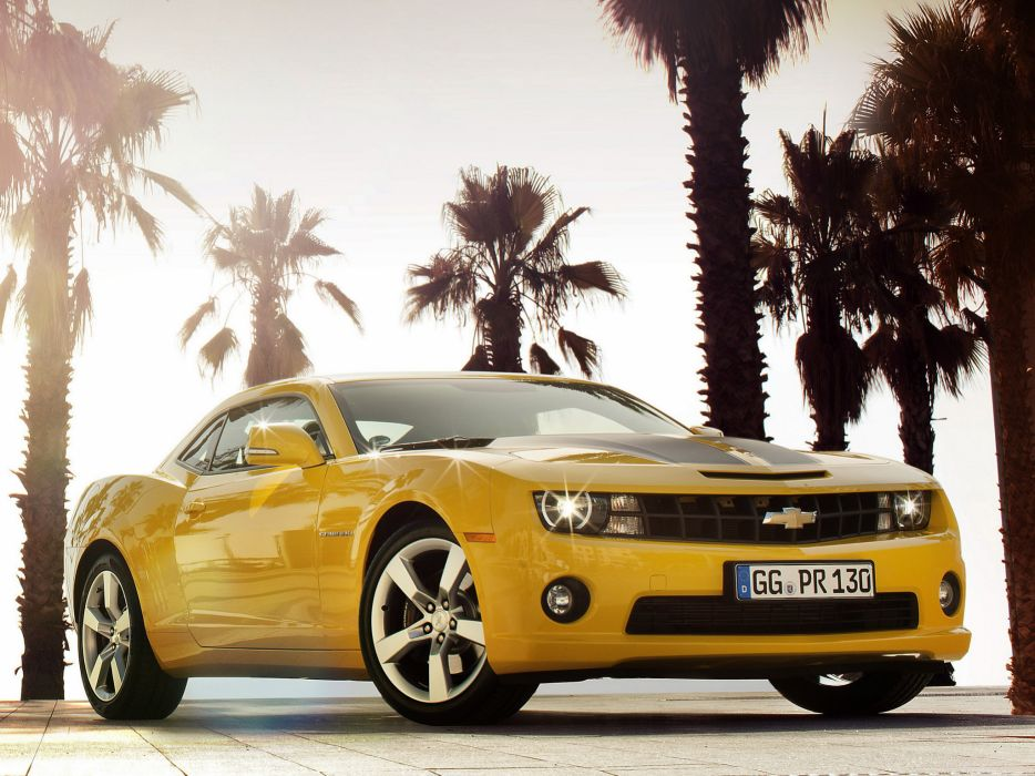 2012 Chevrolet Camaro Coupe muscle   hr wallpaper