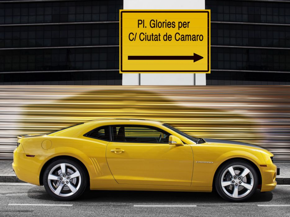 2012 Chevrolet Camaro Coupe muscle   gl wallpaper