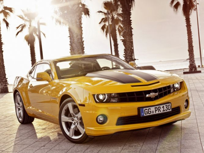 2012 Chevrolet Camaro Coupe muscle wallpaper